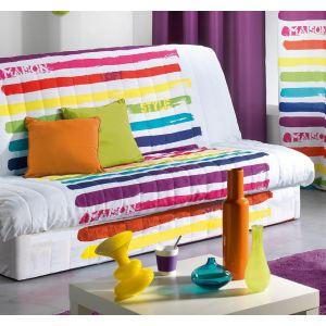 housse de canape blanc comparer 903 offres. Black Bedroom Furniture Sets. Home Design Ideas