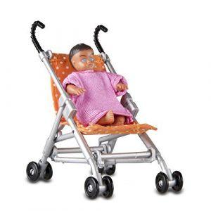 Lundby Smaland Poussette + bébé