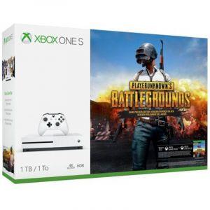 Microsoft Xbox One S (1 To) + PlayerUnknown's Battlegrounds