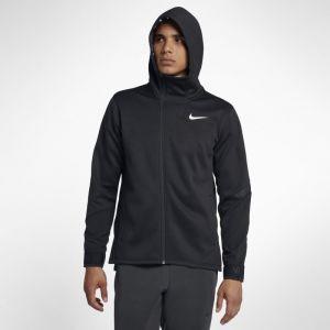 Nike Sweat de training à capuche entièrement zippé Therma pour Homme - Noir - Taille XL