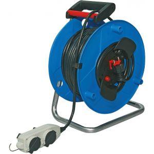 Brennenstuhl Enrouleur sur socle - H05 VV-F 3G 1,5 mm² - Longueur 40 m