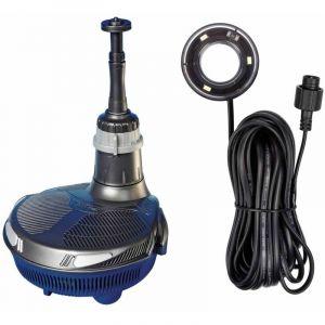 Hozelock Pompe et filtre de fontaine EasyClear 3000 l/h et lampe LED