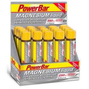 Powerbar Magnesium Liquid + Vitamina B6 (20x25ml citrus)