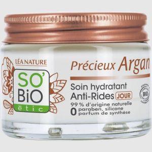 So'Bio Étic Précieux Argan - Soin hydratant anti-rides