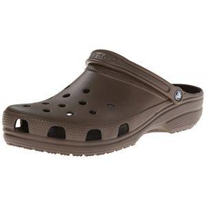 Crocs Classic, Sabots Mixte Adulte, Marron (Chocolate) 52/53 EU