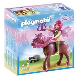 Playmobil 5449 Fairies - Fée Surya avec cheval Rubis