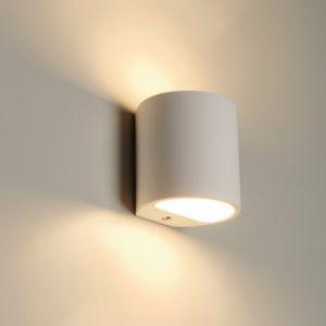 Image de DM Lights GL 104 Round Gips DM 148016 Blanc