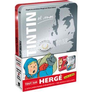 Coffret Herge - Tintin et moi + moi Tintin