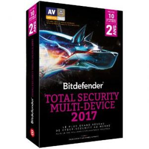 Bitdefender Total Security Multi-Device 2017 pour Windows