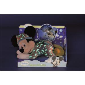 Simba Toys Peluche Mickey couché lumineux 30 cm