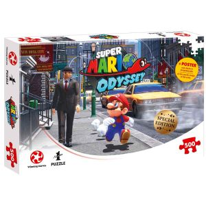 Winning Moves Super Mario Odyssey Puzzle New Donk City