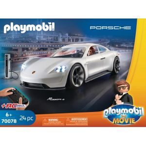 Playmobil : THE MOVIE Rex Dasher et Porsche Mission E