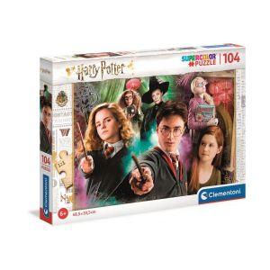 Clementoni Harry Potter-104 pièces-Puzzle Enfant-fabriqué en Italie, 6 Ans et Plus, 25712