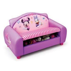 Delta Children Sofa avec rangement Minnie