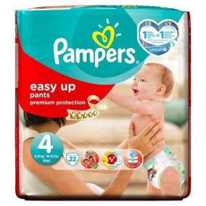 Pampers Easy Up taille 4 Maxi 8-15 kg - 22 couches