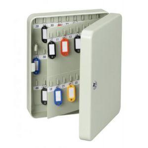 Maul 56590-84 - Coffre pour 90 clés, coloris gris