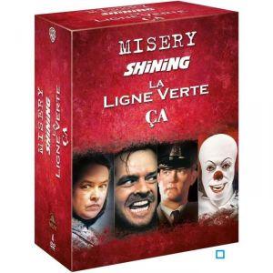 Coffret Stephen King: Misery + Shining + La ligne verte + Ça