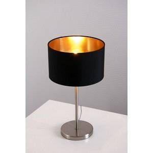 Eglo Lampe à poser noire Maserlo 31627
