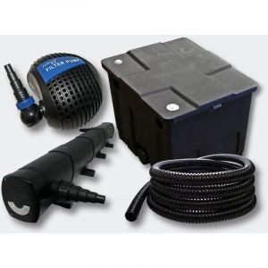 Kit de filtration de b in 12000l Stérilisateur UVC 72W Pompe