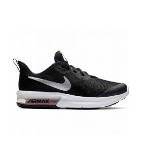 Nike Chaussures enfant Air max sequent 4 girl Noir - Taille 36,38,35 1/2,37 1/2,38 1/2,36 1/2