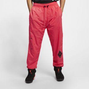 Nike Pantalon Jordan Legacy AJ 6 pour Homme - Couleur Rouge - Taille L