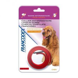 Francodex Collier antiparasitaire longue durée pour chien au Dimpylate