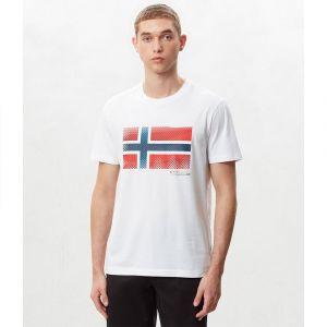 Napapijri T-shirt SIBU blanc - Taille XXL,S,M,L,XL