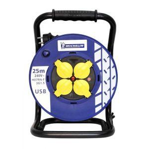Michelin Enrouleur électrique 25 m 3 G1.5 -