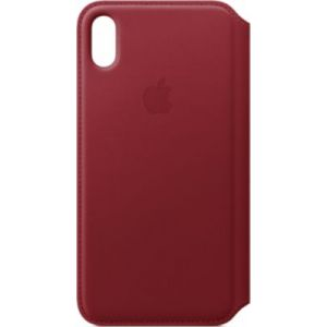 Apple Etui iPhone XS Max cuir (PRODUCT) Red