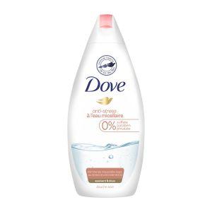 Dove Anti-stress à l'eau micellaire - Douche soin nourrissante
