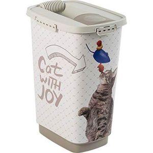 Rotho Conteneur à croquettes Joy pour chat 25L