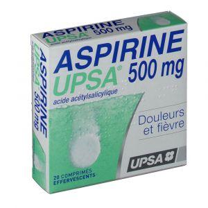 Upsa Aspirine 500 mg - 20 Comprimés effervescents