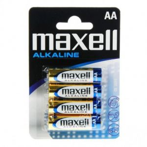 Maxell 4 Piles Alcalines LR06