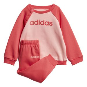 Adidas Ensemble sportswear Linear Fleece Rose - Rose - Taille 98 cm