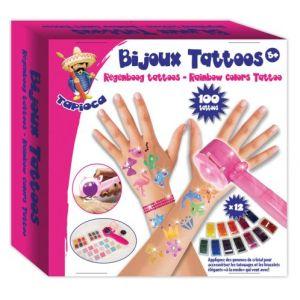 Tapioca Bijoux Tattoos arc-en-ciel