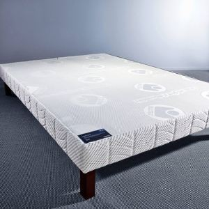 Image de Bultex Sommier confort ferme coutil 1591 w (140 x 190 cm)