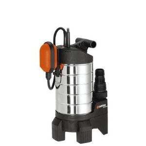 Gardena 1802-20 - Pompe d'évacuation pour eaux chargées 20000 inox Premium