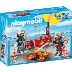 Playmobil 5397 City Action - Pompiers avec matériel d'incendie