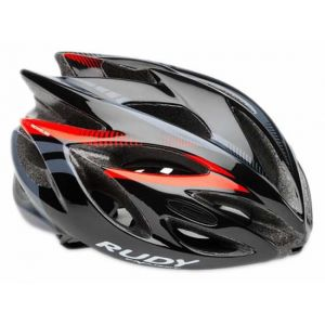 Rudy Project Casque Rush Noir-Rouge 2016 - Taille 51-54 cm