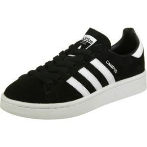 Adidas Campus, Baskets Basses Mixte Enfant, Noir (Core Black/Footwear White/Footwear White), 37 1/3 EU