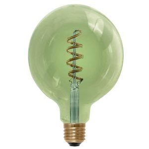Segula ampoule globe LED filament verre fumé vert 6W (remplace 30W) à grand culot E27 125mm