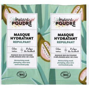Instant poudré Masque hydratant repulpant