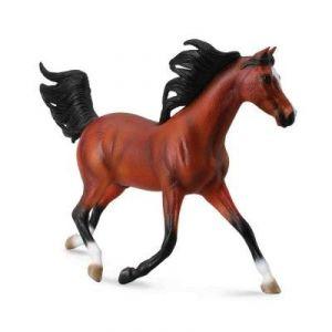 Collecta 88537 - Figurine cheval Etalon Arabe baie clair