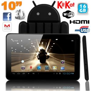"Yonis Y-tt9g16 - Tablette tactile 10"" sous Android 4.2 (8 Go interne + Micro SD 8 Go)"