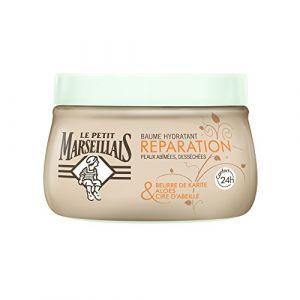 Le Petit Marseillais Réparation - Baume hydratant Beurre de Karité, Aloès & Cire d'Abeille
