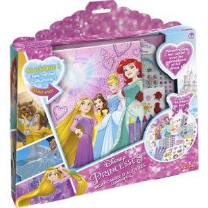 Lansay Mon cahier d'activités lumineux Disney Princesses
