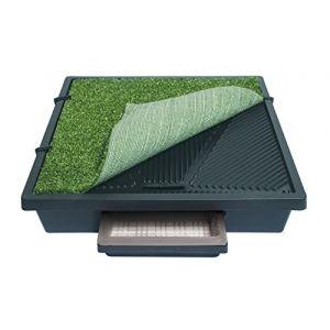 PetSafe Toilettes portables à Pelouse Synthétique pour animaux domestiques Pet Loo (M) pour Chien Moyen / Taille S/M/L