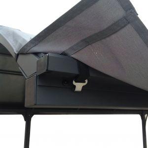 Foresta Bâche pour carport aluminium toit 1/2 rond -