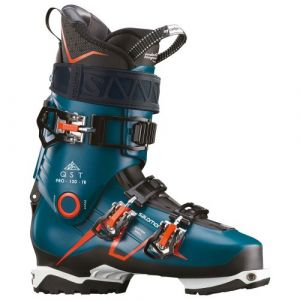 Salomon Chaussures de ski Qst Pro 120 Tr - Maroccan Blue / Black / Orange - Taille 25.0-25.5