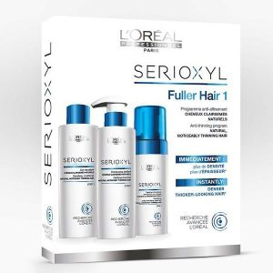 L'Oréal Serioxyl - Kit shampooing, conditionner et aqua-mousse